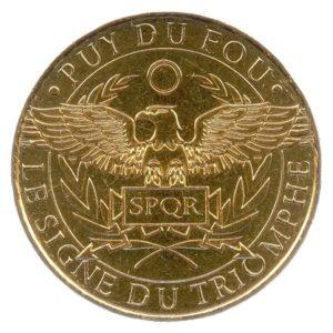 (FMED.Méd.tourist.2018.CuAlNi-1.1.1.spl.000000001) Le Signe du Triomphe Obverse (zoom)