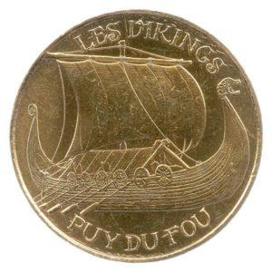 (FMED.Méd.tourist.2018.CuAlNi-1.2.spl.000000001) Tourism token - Vikings Obverse (zoom)