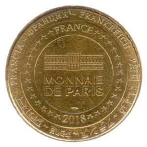(FMED.Méd.tourist.2018.CuAlNi-2.spl.000000001) Tourism token - Le Dernier Panache Reverse (zoom)