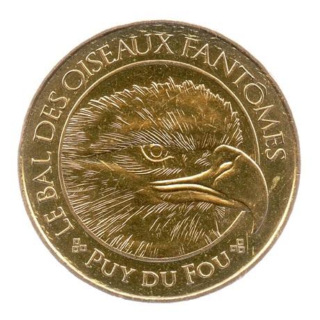 (FMED.Méd.tourist.2018.CuAlNi-3.spl.000000001) Jeton touristique - Le Bal des Oiseaux Fantômes Avers