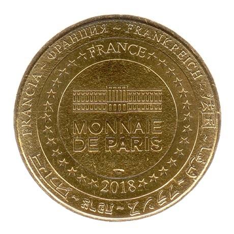 (FMED.Méd.tourist.2018.CuAlNi2.spl.000000001) Jeton touristique - Mousquetaire de Richelieu Revers