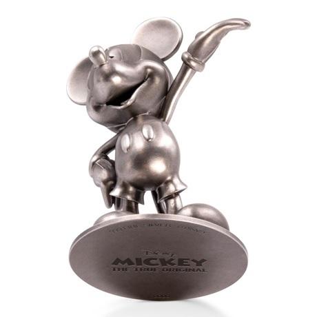 (OA160.ObjArt.NZ.n.d._2018_.Ag1) Fonte argent - Mickey Mouse (vue sur le dessous)