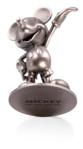 (OA160.ObjArt.NZ.n.d._2018_.Ag1) Silver miniature - Mickey Mouse (complementary picture) (zoom)