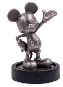 (OA160.ObjArt.NZ.n.d._2018_.Ag1) Silver miniature - Mickey Mouse (on base) (zoom)