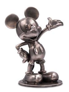 (OA160.ObjArt.NZ.n.d._2018_.Ag1) Silver miniature - Mickey Mouse (zoom)