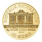 10 euro Autriche 2018 0,10 once or - Philharmonique Avers