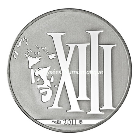 10 euro France 2011 argent BE - XIII Avers