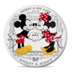 10 euro France 2018 argent BE - Mickey Mouse Avers