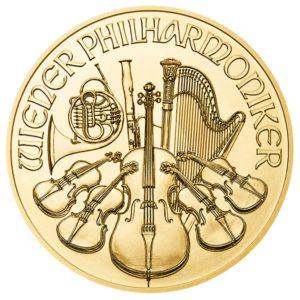 100 euro Austria 2018 1 ounce gold - Vienna Philharmonic Orchestra Reverse (zoom)