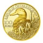 100 euro Autriche 2018 or BE - Canard colvert Avers