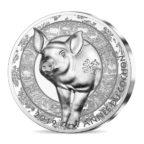 20 euro France 2019 argent BE - Année du Cochon Revers