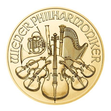 25 euro Autriche 2018 0,25 once or - Philharmonique Revers