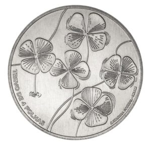 5 euro Portugal 2018 - Four-leaf clover Reverse (zoom)