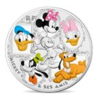 50 euro France 2018 argent BE - Mickey Mouse Avers