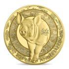 50 euro France 2019 or BE - Année du Cochon Revers