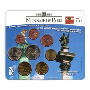 (EUR07.CofBU&FDC.2006.M-S16.cp5.198) Mini-set BU France 2006 - Salon de Varsovie Recto