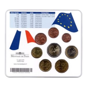 (EUR07.CofBU&FDC.2007.M-S1.cp5.051) Mini-set BU France 2007 - Corse Verso
