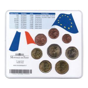 (EUR07.CofBU&FDC.2007.M-S16.020) Mini-set BU France 2007 - Journées du patrimoine Verso