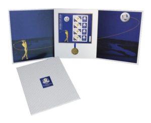 (FMED.Méd.even.2018.CuAlNi1) Event token - Ryder Cup (packaging) (zoom)