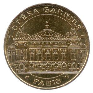 (FMED.Méd.tourist.2018.CuAlNi2.1.spl.000000001) Tourism token - Paris Opera Obverse (zoom)