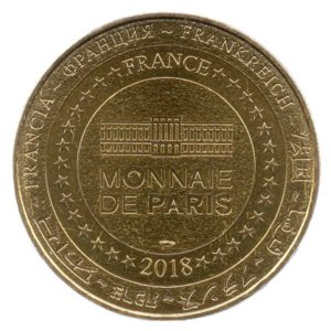 (FMED.Méd.tourist.2018.CuAlNi2.1.spl.000000001) Tourism token - Paris Opera Reverse (zoom)
