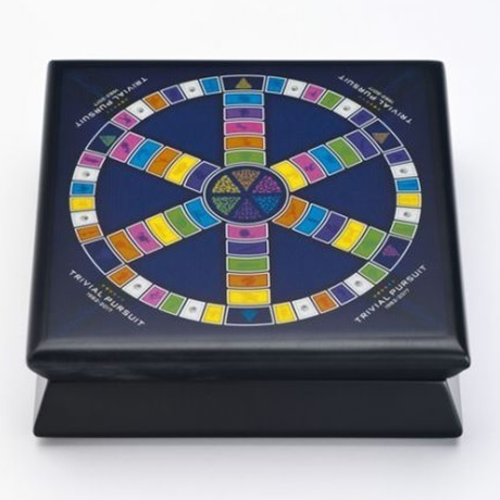 (W037.2500.2017.BU&BE.COM1) 25 Dollars Trivial Pursuit 2017 - Ag BE (écrin)