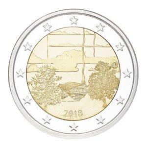 2 euro commémorative Finlande 2018 - Culture du sauna Avers