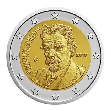 2 euro commémorative Grèce 2018 - Kostís Palamás