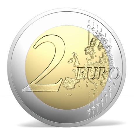 2 euro commémorative Lettonie 2018 - Sémigalie Revers