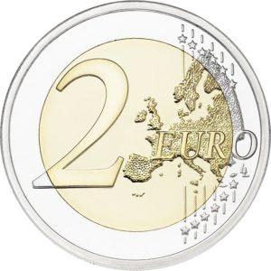 2 euro commemorative coin Finland 2018 - Finnish sauna Reverse (zoom)