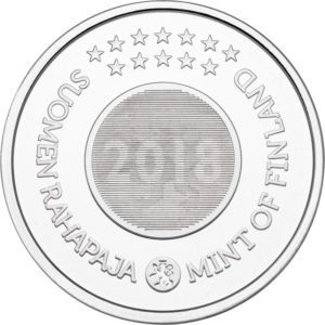 Brilliant Uncirculated coin set Finland 2018 - Christmas (medal) (Obverse) (zoom)