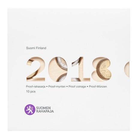 Coffret BE Finlande 2018