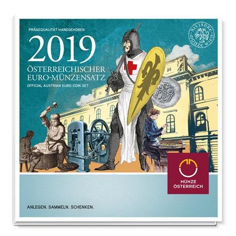 Coffret BU Autriche 2019