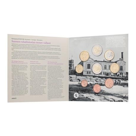 Coffret BU Finlande 2018 (9 pièces) (intérieur)