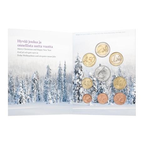 Coffret BU Finlande 2018 - Noël (intérieur)