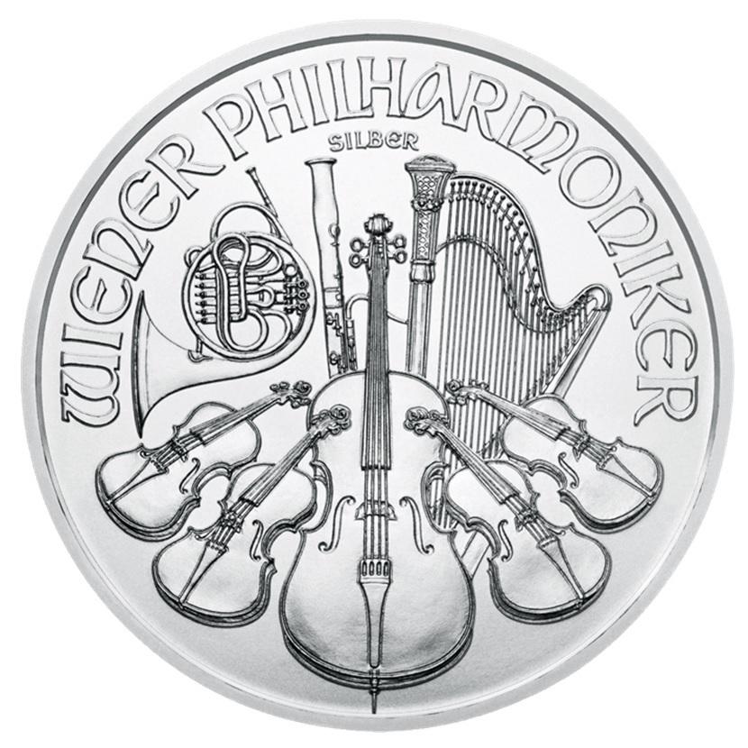 (EUR01.150.2017.21598) 1.50 euro Austria 2017 1 ounce silver - Philharmonic Reverse (zoom)
