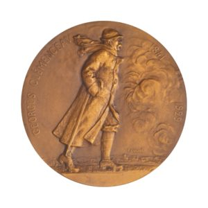 (FMED.Méd.MdP.CuSn.100113296700P0) Bronze medal - Georges Clemenceau Obverse (zoom)