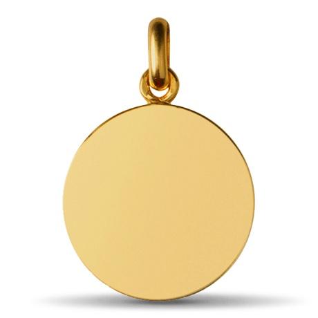 (FMED.Méd.couMdP.Au.10011074920P00) Médaille de cou or - Chrisme Revers