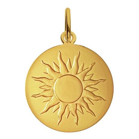 (FMED.Méd.couMdP.Au.10011300050P00) Médaille de cou or - Je brillerai comme un soleil Avers