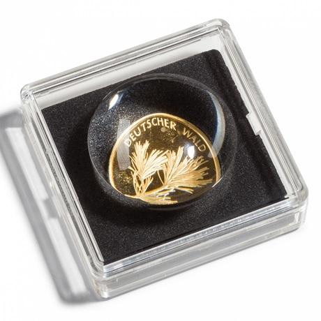 (MAT01.Rangindiv.Caps.346137) 2 capsules Leuchtturm MAGNICAPS pour monnaies 15,00 mm