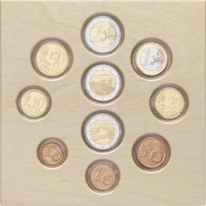 Proof coin set Finland 2018 (inside) (zoom)