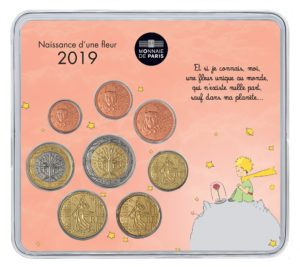 Brilliant Uncirculated mini-set France 2019 - Baby birth (girl version) Front (zoom)
