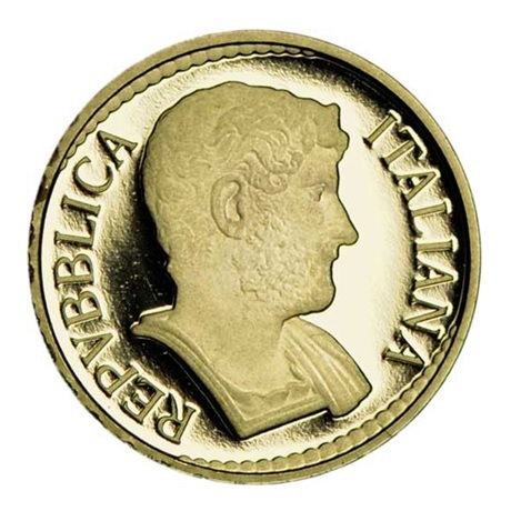 10 euro Italie 2017 or BE - Hadrien Avers