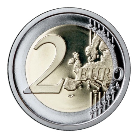 2 euro commémorative Italie 2015 BE - Exposition universelle Revers