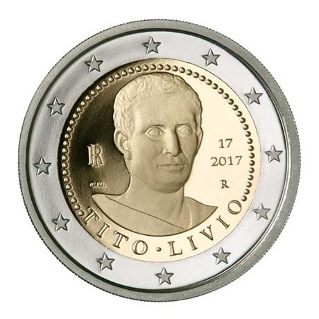2 euro commémorative Italie 2017 BE - Tite-Live Avers