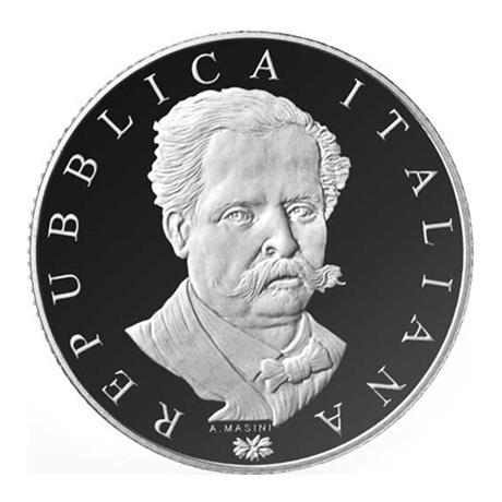 5 euro Italie 2017 argent BE - Francesco de Sanctis Avers