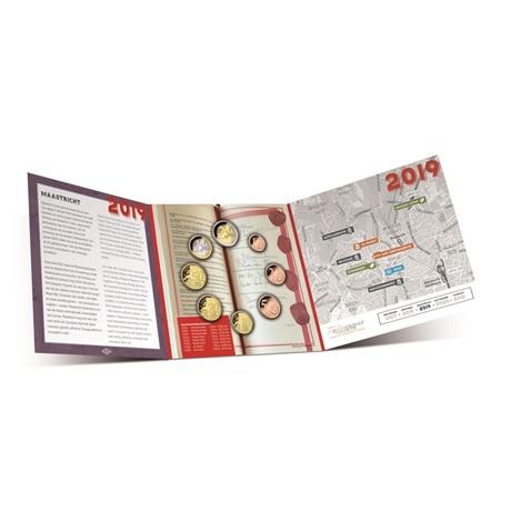 Coffret BU Pays-Bas 2019 (ouvert)