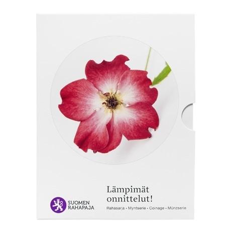 (EUR06.CofBU&FDC.2018.Cof-BU.5) Coffret BU Finlande 2018 - Chaleureuses félicitations