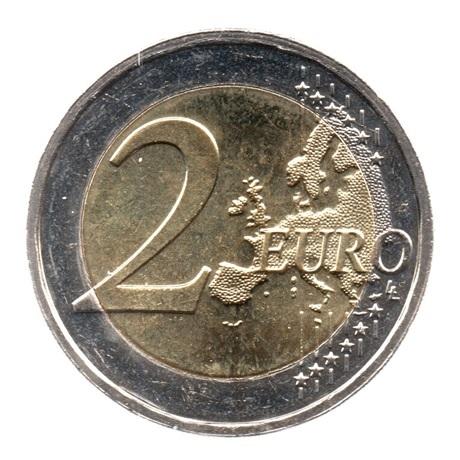 (EUR11.200.2018.COM2.spl.000000001) 2 euro commémorative Luxembourg 2018 - Guillaume Ier Revers