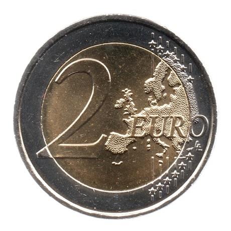 (EUR13.200.2018.COM2.spl.000000002) 2 euro commémorative Malte 2018 - Patrimoine culturel Revers